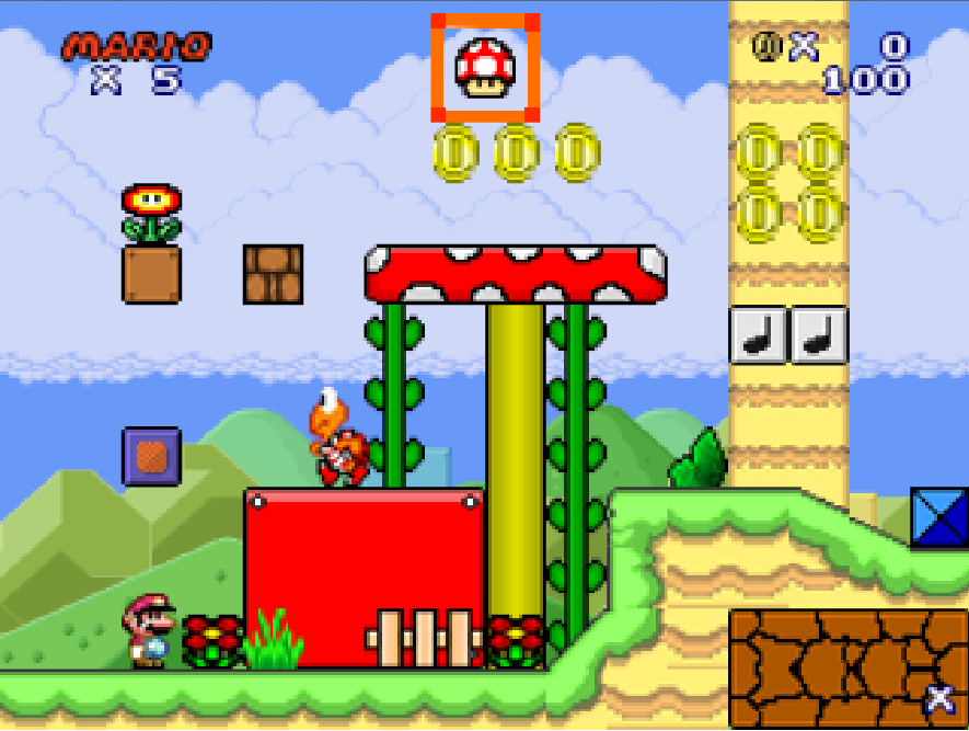 New Super Mario Flash 2 - Luigibonus Website